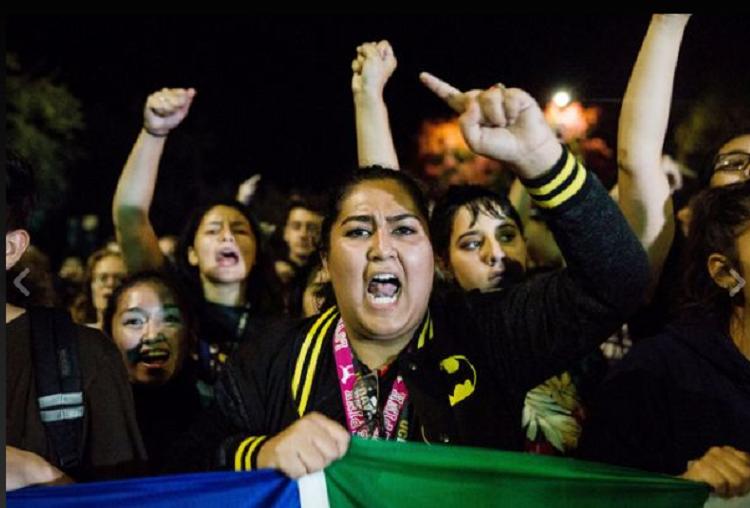 В США проходят протесты против итогов выборов