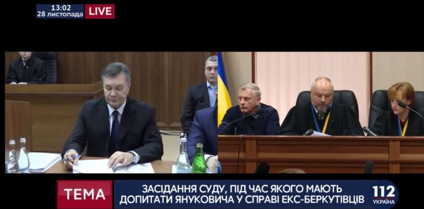 Допрос экс-главы войск МВД Украины перенесен на 2 декабря