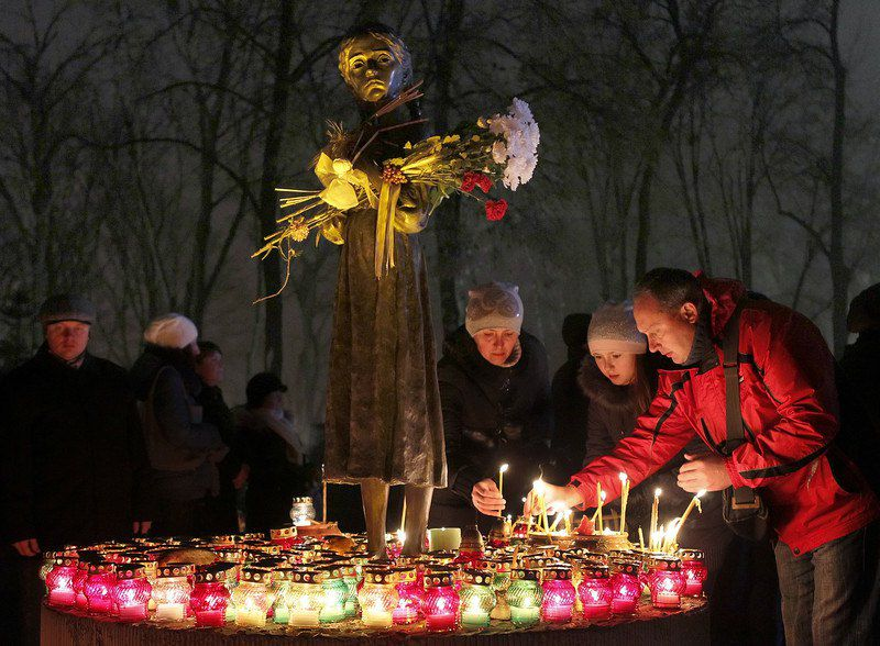 Сегодня Украина чтит память о событиях Голодомора
