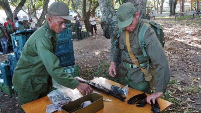 После победы Трампа Куба решила провести военные учения