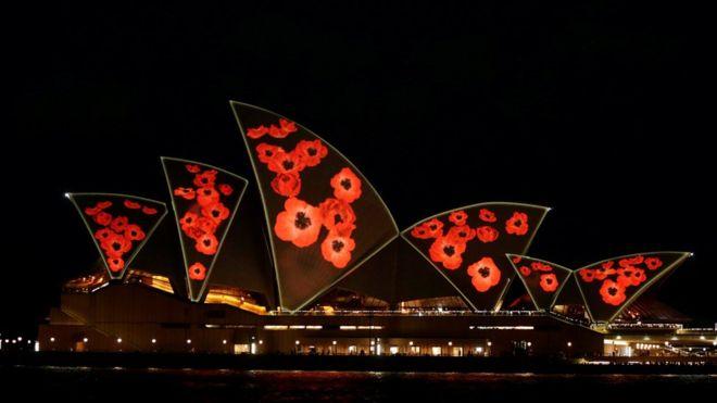 В Сиднее напомнили о Дне перемирия