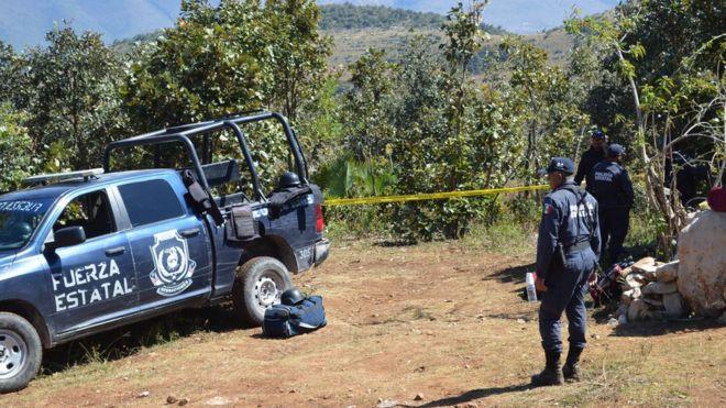 В Мексике нашли захоронение жертв войны между наркокартелями