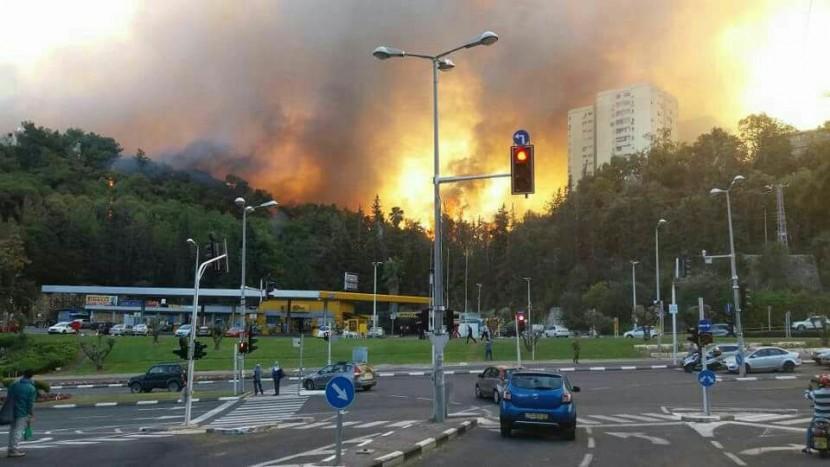 Израиль в огне. Кадры из апокалипсиса.