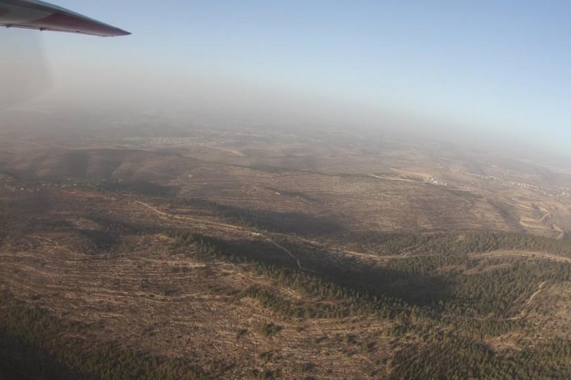 Украинские самолеты помогают тушить пожар в Израиле