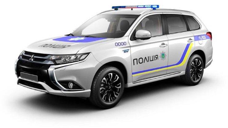Полицейский автопарк в Украине пополнится японскими моделями