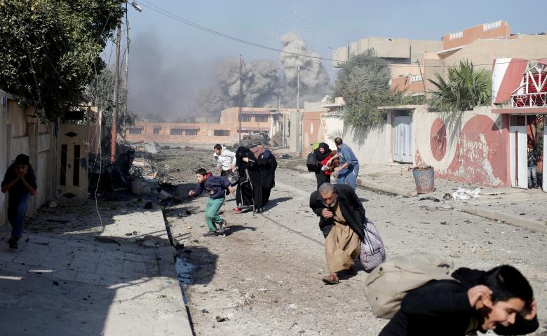 Иракские войска продолжают продвижение вглубь Мосула