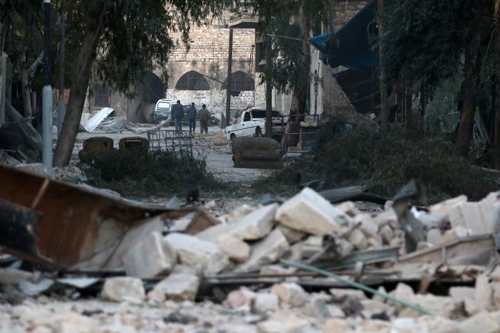 Авиаудары по Алеппо возобновились с новой силой
