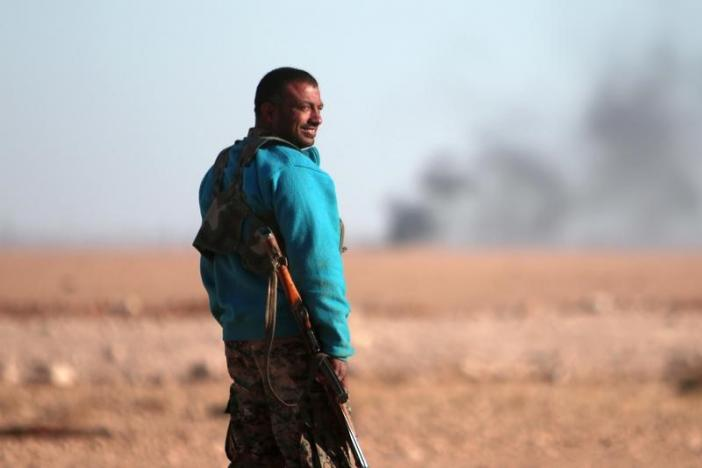 ИГ активизировало контратаки в сирийском городе Ракка