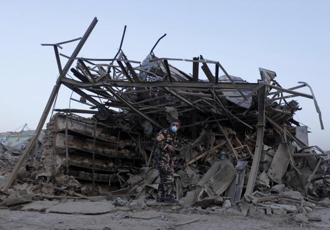 Талибан атаковал немецкое консульство в северном Афганистане