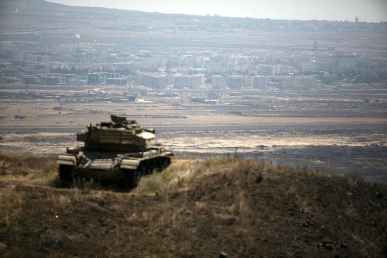 Израильская авиация уничтожила позиции террористов на Голанских высотах