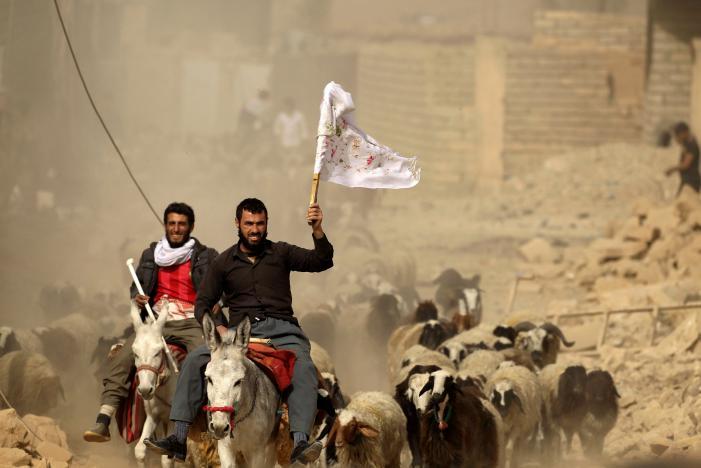 Иракские войска нацелены на восточную часть Мосула
