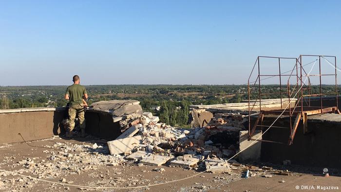 На территории Донбасса наступило временное перемирие