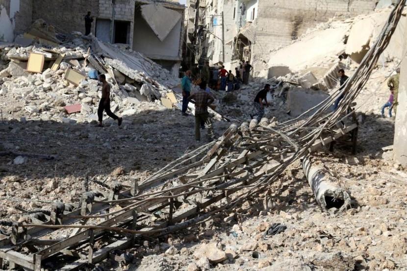 Сирийская армия усилила атаки на восточную часть Алеппо