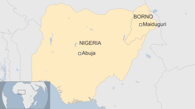 В Нигерии семилетние девочки взорвали себя на рынке