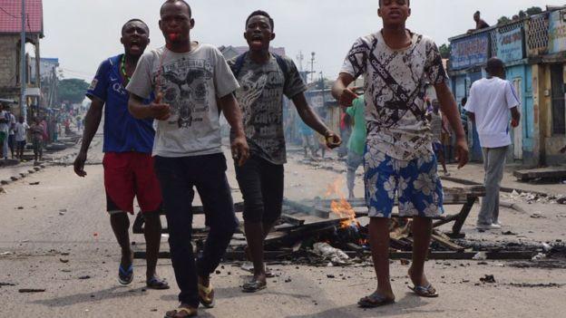 В Конго силовики расстреляли протестную демонстрацию