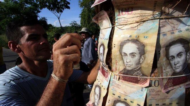 В Венесуэле продолжают обмен купюр