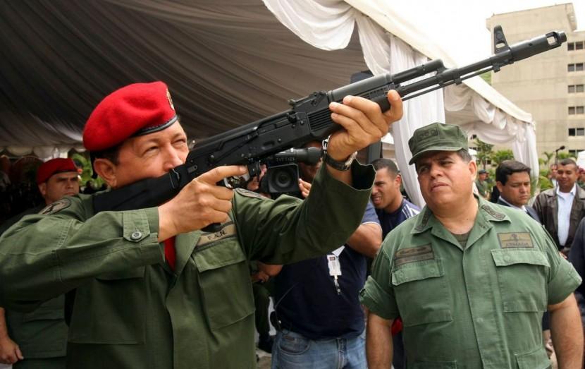 Венесуэла начнет собственное производство автоматов Калашникова