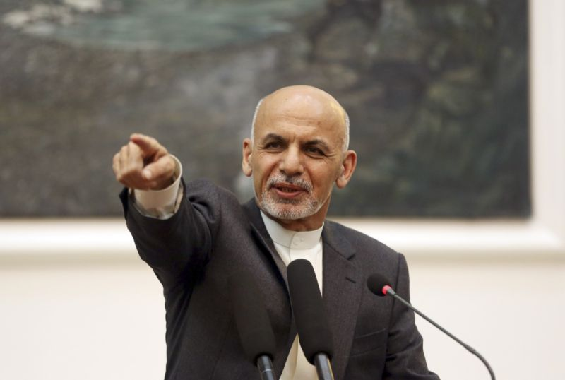 Ашраф Гани призывает к ликвидации пакистанской «защиты» Талибана