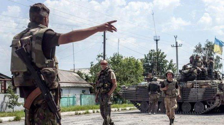 Военная ситуация на территории Донбасса обостряется