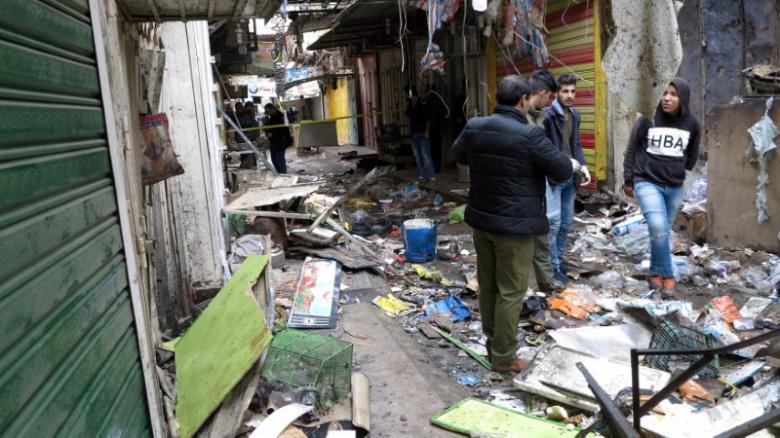 Взрыв вБагдаде: 21 человек умер 31декабря 2016 10:48