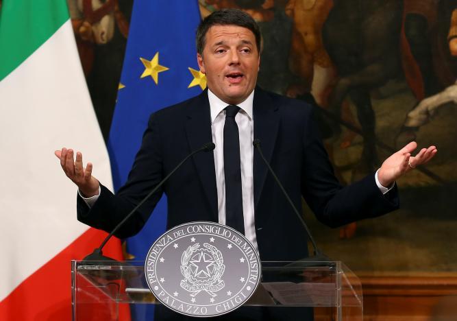 Итальянский премьер-министр объявил о своей отставке