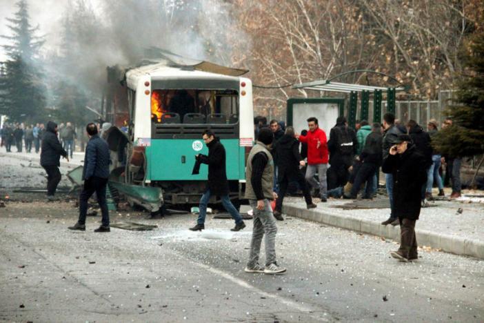 В турецком городе Кайсери произошел теракт