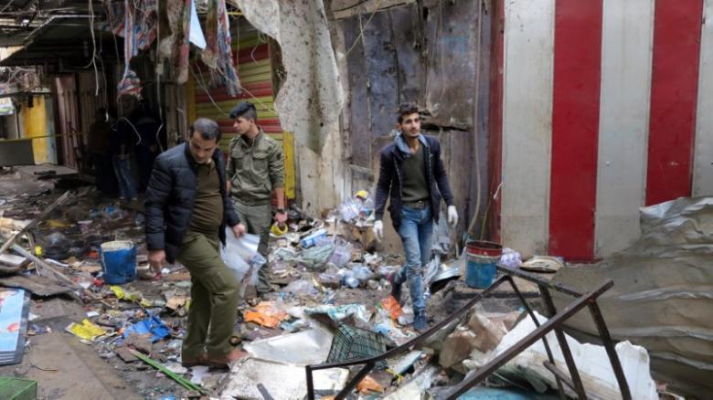 На центральном рынке Багдада произошел теракт