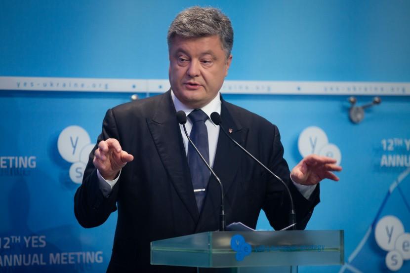 Порошенко выступил с речью о стратегическом партнерстве с США