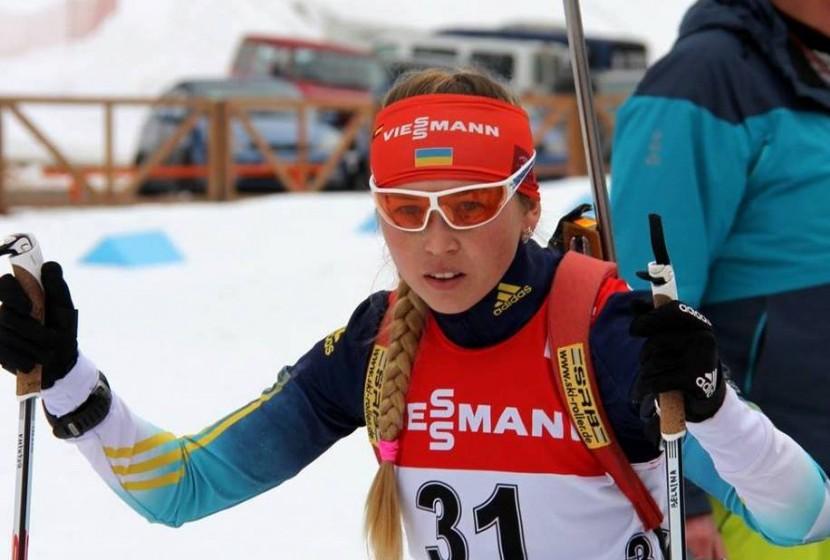 Биатлонистка из Украины завоевала третье место в зимней Универсиаде
