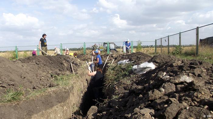 Строительство «стены» в Харьковской области приостановлено