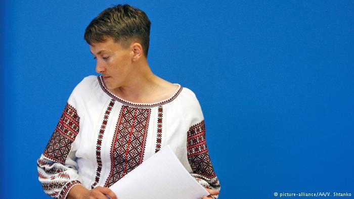 Савченко скорректировала списки взятых вплен вДонбассе