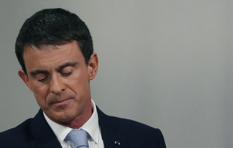 Вальс и Хамон сражаются за пост президента Франции