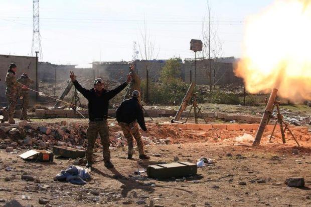 Иракские войска приближаются к центру Мосула