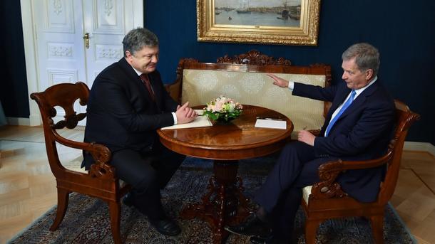 Президенты Украины иЭстонии сделали общее объявление относительно санкций противРФ