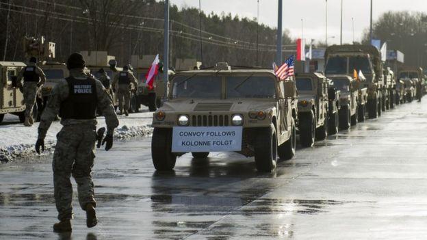 Россия посчитала угрозой размещение американских войск в Польше