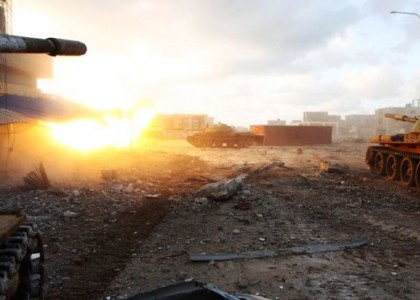 Ливийская армия освободила от исламистов один из районов Бенгази