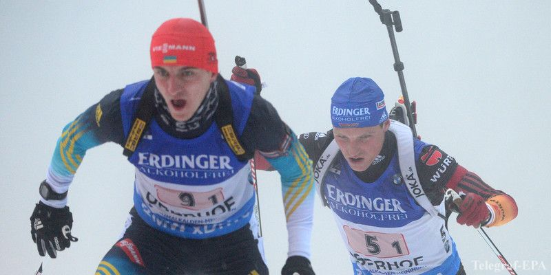 Украинские биатлонисты заполучили 4-ое место в Антхольце