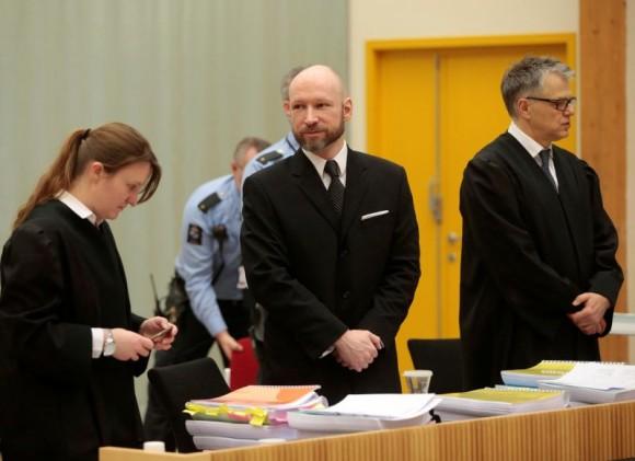 Андерс Брейвик заявил о своей «радикализации» в тюрьме