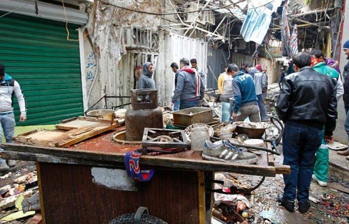 В оживленном районе Багдада произошел очередной теракт