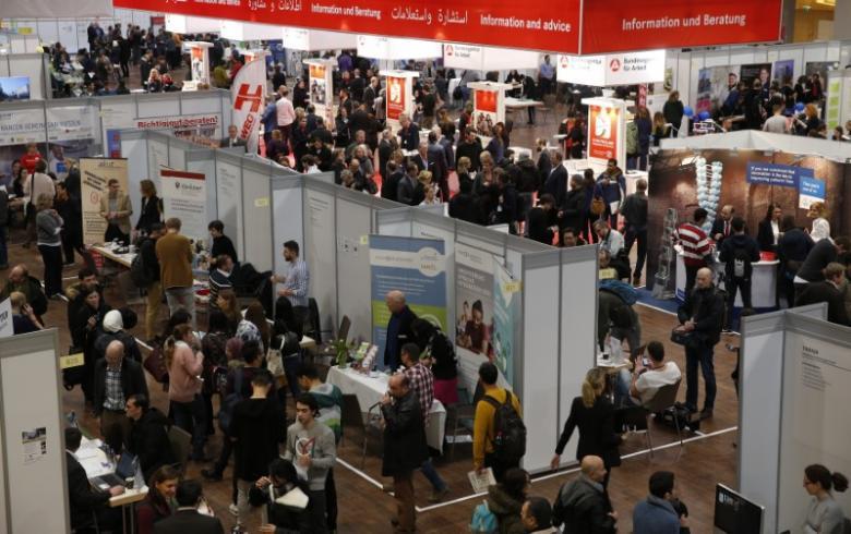 В Германии наблюдается рекордное увеличение населения