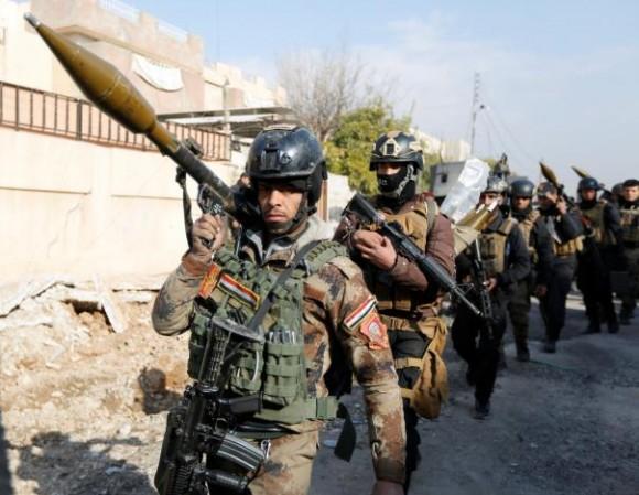 Иракские войска освободили университетский кампус в Мосуле