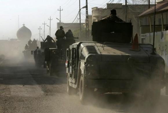 Иракская армия продвигается вглубь Мосула