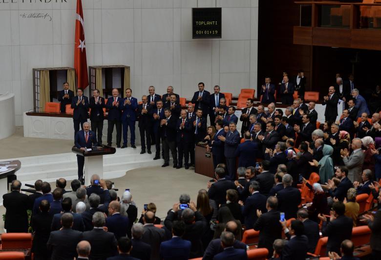В Турции парламент одобрил развитие президентской системы