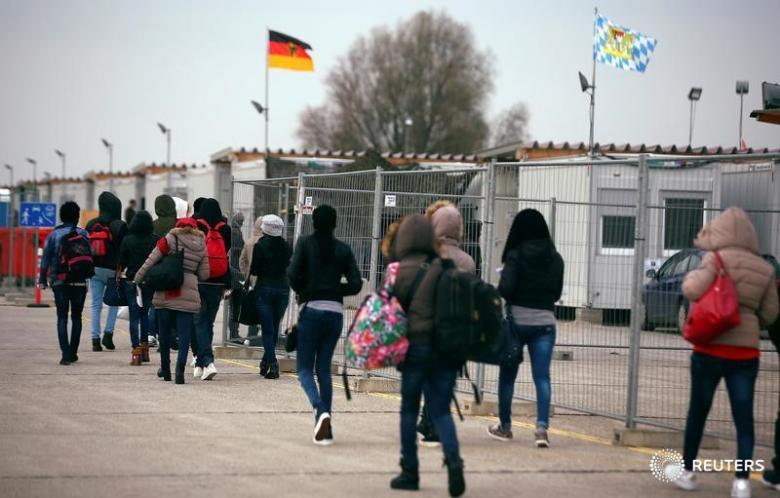 Германия потратила неменее 21млрдевро намиграционный кризис