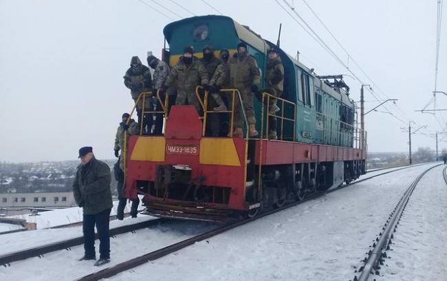 Укрзализныця требует устранения железнодорожной блокады в Донбассе