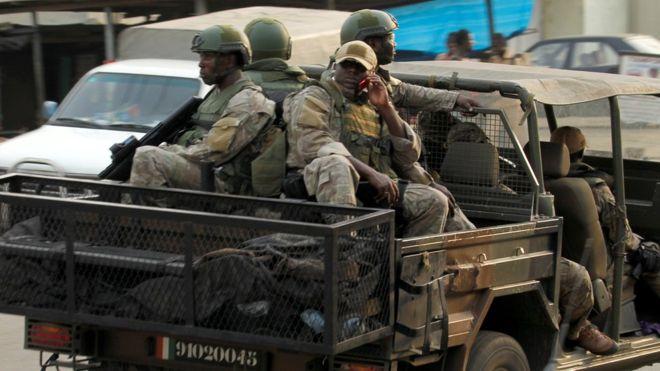 В Кот-д'Ивуаре взбунтовался спецназ