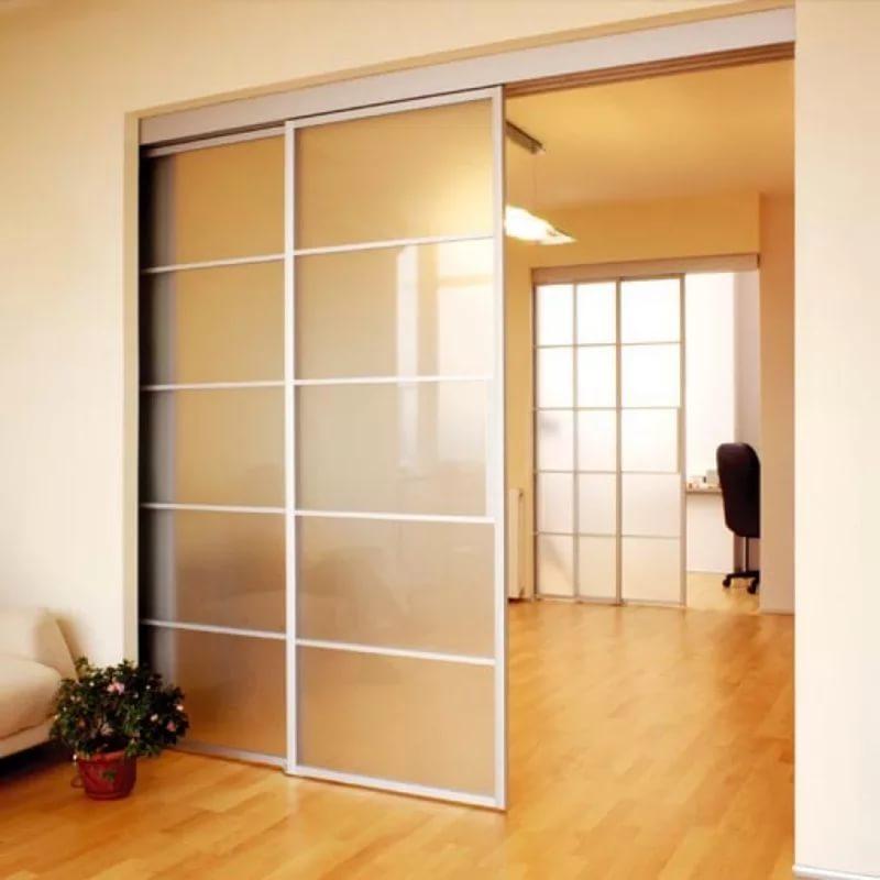 Межкомнатные перегородки для зонирования пространства комнаты