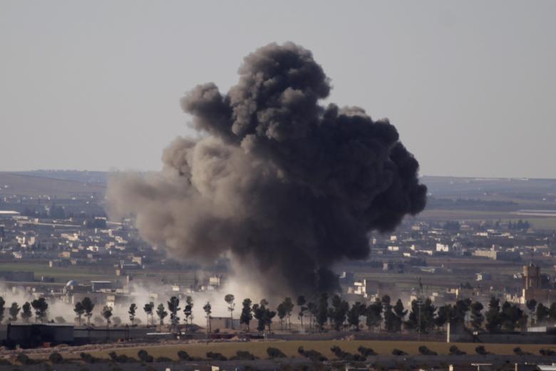 Сирийские войска продвигаются в направлении Аль-Баба