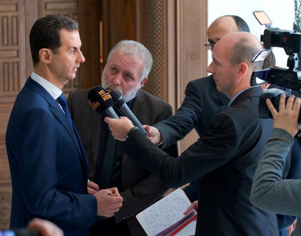 Башар Асад рассчитывает на Трампа в борьбе против Исламского Государства