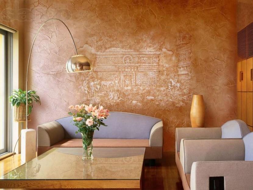 Декоративная штукатурка: украшаем интерьер